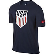 Nike Men's USA Navy Crest T-Shirt