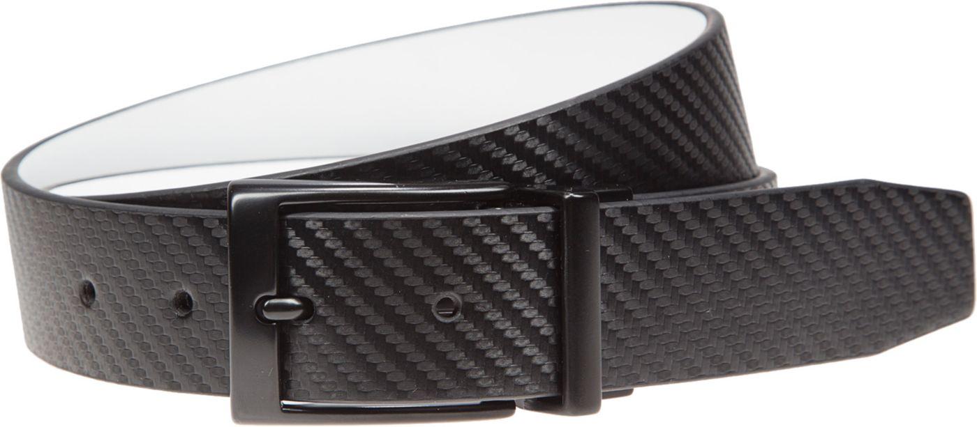 Nike Men's Carbon Fiber Matte Reversible Golf Belt