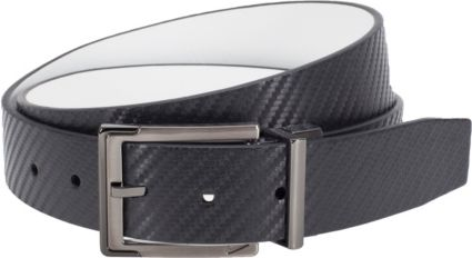 Nike Carbon Fiber Textured Reversible Belt