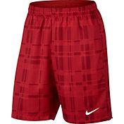 Nike Men's Court Dry 9'' Plaid Tennis Shorts