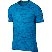 Nike Men's Dry Tailwind Printed Running T-Shirt