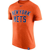 Nike Men's New York Mets Dri-Blend Orange DNA T-Shirt