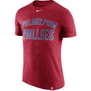 Nike Men's Philadelphia Phillies Dri-Blend Red DNA T-Shirt