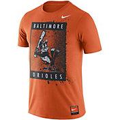 Nike Men's Baltimore Orioles Cooperstown Graphic Orange T-Shirt