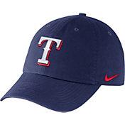 Nike Men's Texas Rangers Dri-FIT Royal Heritage 86 Stadium Adjustable Hat