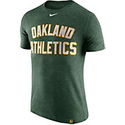 Nike Men's Oakland Athletics Dri-Blend Green DNA T-Shirt