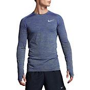 Nike Men's Dri-FIT Knit Long Sleeve Running Shirt