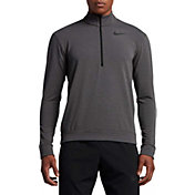 Nike Men's Dry Fleece Quarter Zip Shirt