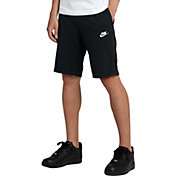 Nike Men's Sportswear Jersey Club Shorts in Black