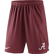 Nike Men's Alabama Crimson Tide Crimson Knit Football Sideline Performance Shorts