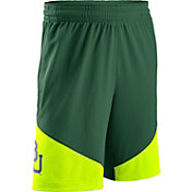 Nike Men's Baylor Bears Green New Classics Basketball Shorts