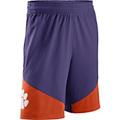 Nike Men's Clemson Tigers Regalia/Orange New Classics Basketball Shorts