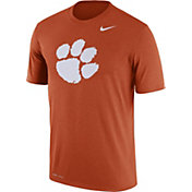 Nike Men's Clemson Tigers Orange Logo Dry Legend T-Shirt
