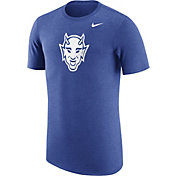 Nike Men's Duke Blue Devils Heathered Duke Blue Vault Tri-Blend T-Shirt