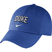 Nike Men's Duke Blue Devils Duke Blue Heritage86 Wordmark Swoosh Flex Hat
