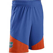 Nike Men's Florida Gators Blue/Orange New Classics ELITE Basketball Shorts