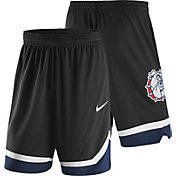 Nike Men's Gonzaga Bulldogs Replica Basketball Black Shorts