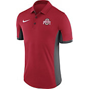 Nike Men's Ohio State Buckeyes Scarlet Evergreen Performance Polo