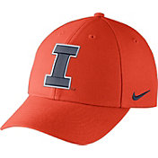 Nike Men's Illinois Fighting Illini Orange Wool Classic Hat