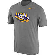 Nike Men's LSU Tigers Grey Logo Dry Legend T-Shirt