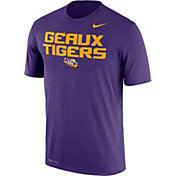 Nike Men's LSU Tigers Purple 'Geaux Tigers' Authentic Local Legend T-Shirt