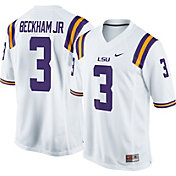 Nike Men's Odell Beckham Jr. LSU Tigers White #3 Replica College Alumni Jersey