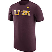 Nike Men's Minnesota Golden Gophers Heathered Maroon Vault Tri-Blend T-Shirt