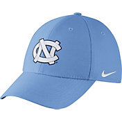 Nike Men's North Carolina Tar Heels Carolina Blue Dri-FIT Wool Swoosh Flex Hat