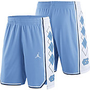 Jordan Men's North Carolina Tar Heels Carolina Blue Replica Basketball Shorts