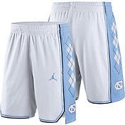 Jordan Men's North Carolina Tar Heels White Replica Basketball Shorts