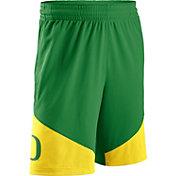 Nike Men's Oregon Ducks Apple Green/Yellow New Classics Basketball Shorts