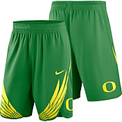 Nike Men's Oregon Ducks Apple Green Replica Basketball Shorts
