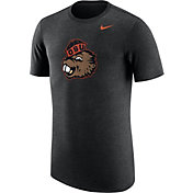 Nike Men's Oregon State Beavers Heathered Black Vault Tri-Blend T-Shirt