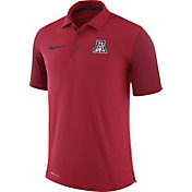 Nike Men's Arizona Wildcats Cardinal Team Issue Football Sideline Performance Polo
