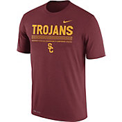 Nike Men's USC Trojans Cardinal Football Staff Legend T-Shirt