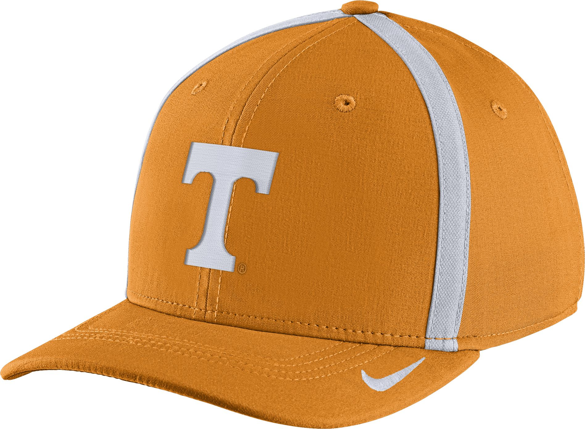 best website bf27e 860fe ... authentic nike mens tennessee volunteers tennessee orange aerobill  swoosh flex classic99 football sideline hat b7077 d1fa3