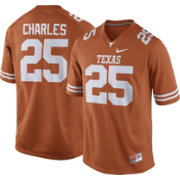 Nike Men's Jamaal Charles Texas Longhorns #25 Burnt Orange Replica College Alumni Jersey