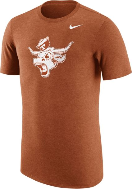 301bdf5b293ee Nike Men s Texas Longhorns Heathered Burnt Orange Vault Tri-Blend T ...