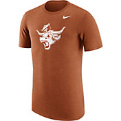 Nike Men's Texas Longhorns Heathered Burnt Orange Vault Tri-Blend T-Shirt