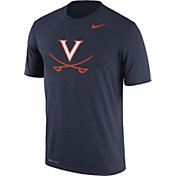Nike Men's Virginia Cavaliers Blue Logo Dry Legend T-Shirt