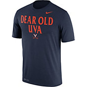 Nike Men's Virginia Cavaliers Blue 'Dear Old UVA' Authentic Local Legend T-Shirt