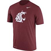 Nike Men's Washington State Cougars Crimson Logo Dry Legend T-Shirt
