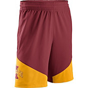 Nike Men's Iowa State Cyclones Cardinal/Gold New Classics Basketball Shorts