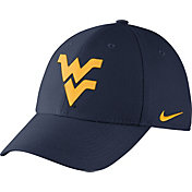 Nike Men's West Virginia Mountaineers Blue Dri-FIT Wool Swoosh Flex Hat
