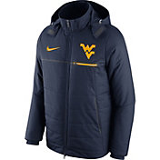Nike Men's West Virginia Mountaineers Blue Sideline Jacket