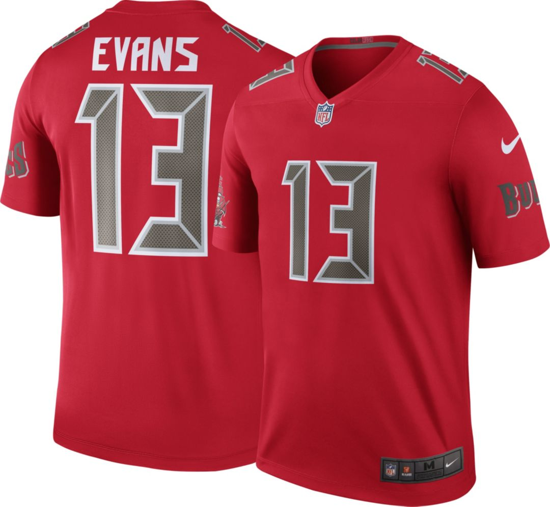 new style c59a3 bb288 Nike Men's Color Rush Legend Jersey Tampa Bay Buccaneers Mike Evans #13