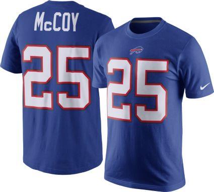 Cheap Nike Men's Buffalo Bills LeSean McCoy #25 Pride Blue T Shirt  free shipping