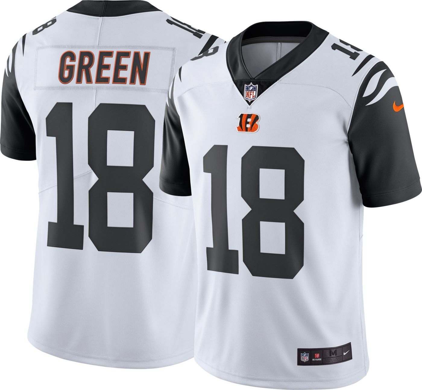 Nike Men's Color Rush Limited Jersey Cincinnati Bengals A.J. Green #18