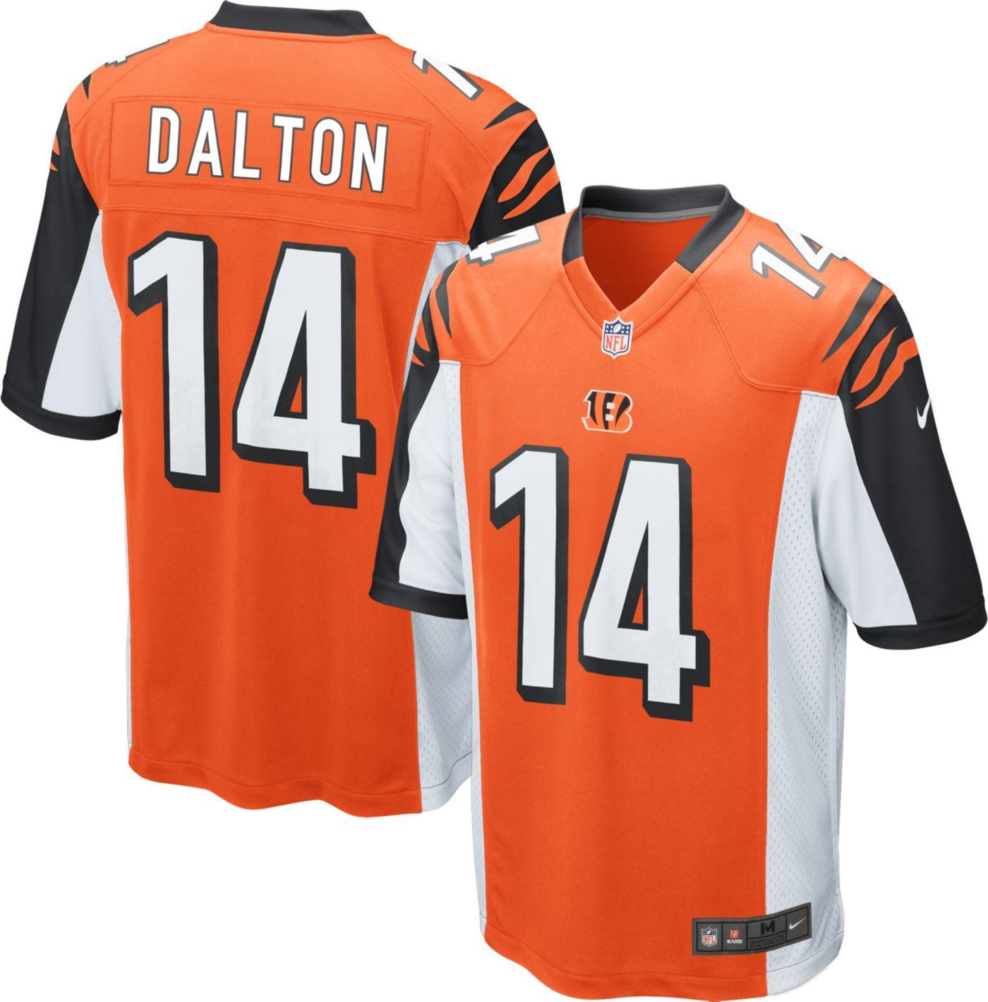Nike Men's Alternate Game Jersey Cincinnati Bengals Andy Dalton #14