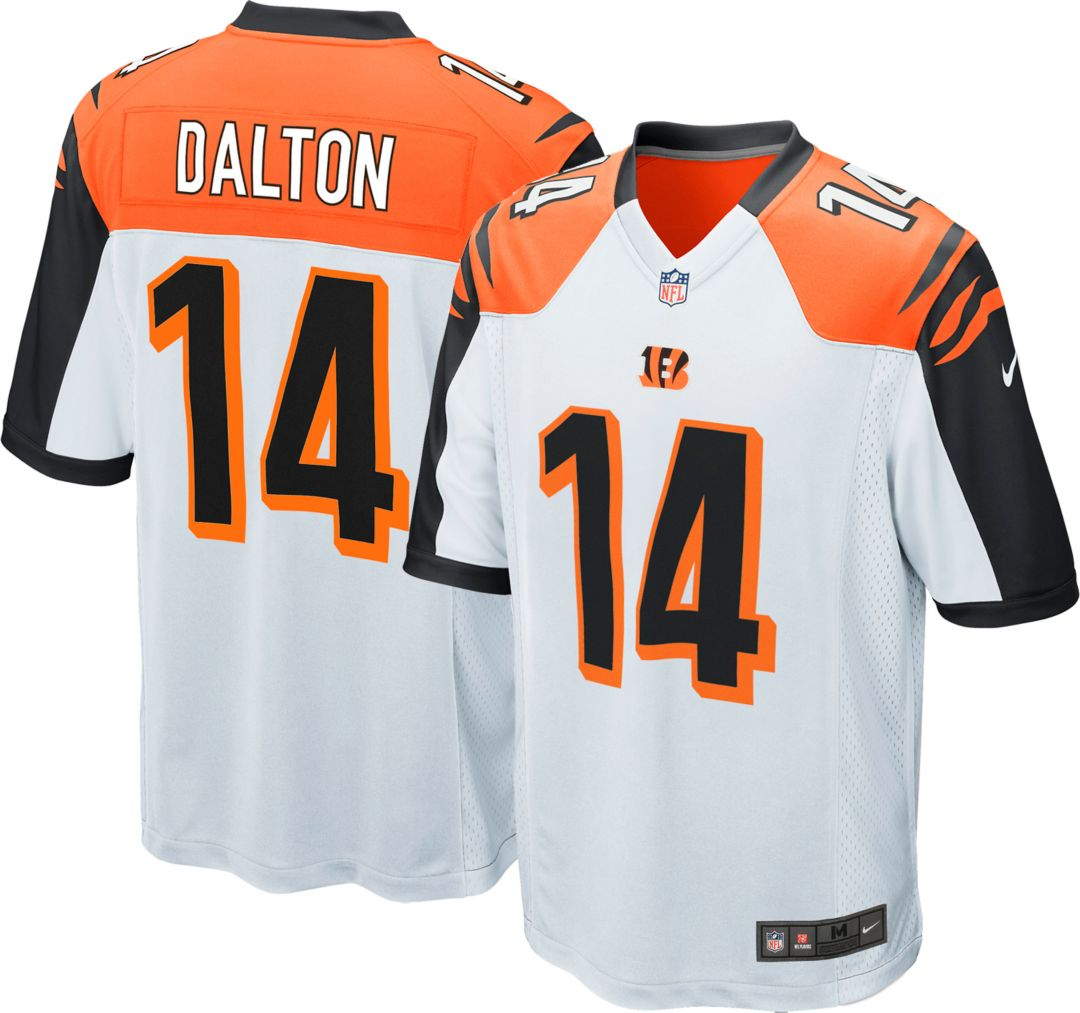 buy popular 7d01d c8445 Nike Men's Away Game Jersey Cincinnati Bengals Andy Dalton #14